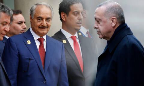 Έξω φρενών ο Ερντογάν με τον Χαφτάρ: Η Τουρκια θα του δώσει ένα μάθημα στη Λιβύη