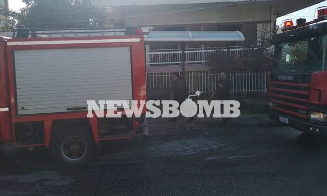 Φωτιά σε διαμέρισμα στα Μελίσσια: Ένας τραυματίας - Απεγκλωβίστηκαν τέσσερα άτομα