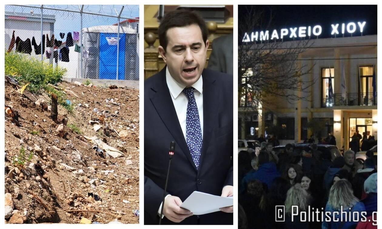 Χίος: Στον Εισαγγελέα οι συλληφθέντες για τα επεισόδια - Στα όρια οι κάτοικοι με το μεταναστευτικό