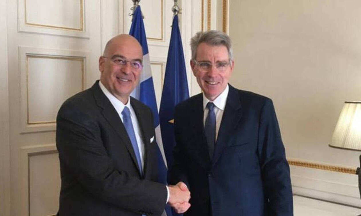 Πάιατ: Εξαιρετική συνάντηση με τον Δένδια – Τι συζήτησε ο πρεσβευτής των ΗΠΑ με τον Έλληνα ΥΠΕΞ