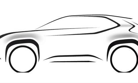Toyota: Αυτό είναι το πρώτο επίσημο σκίτσο του SUV που θα βασίζεται στο Yaris!