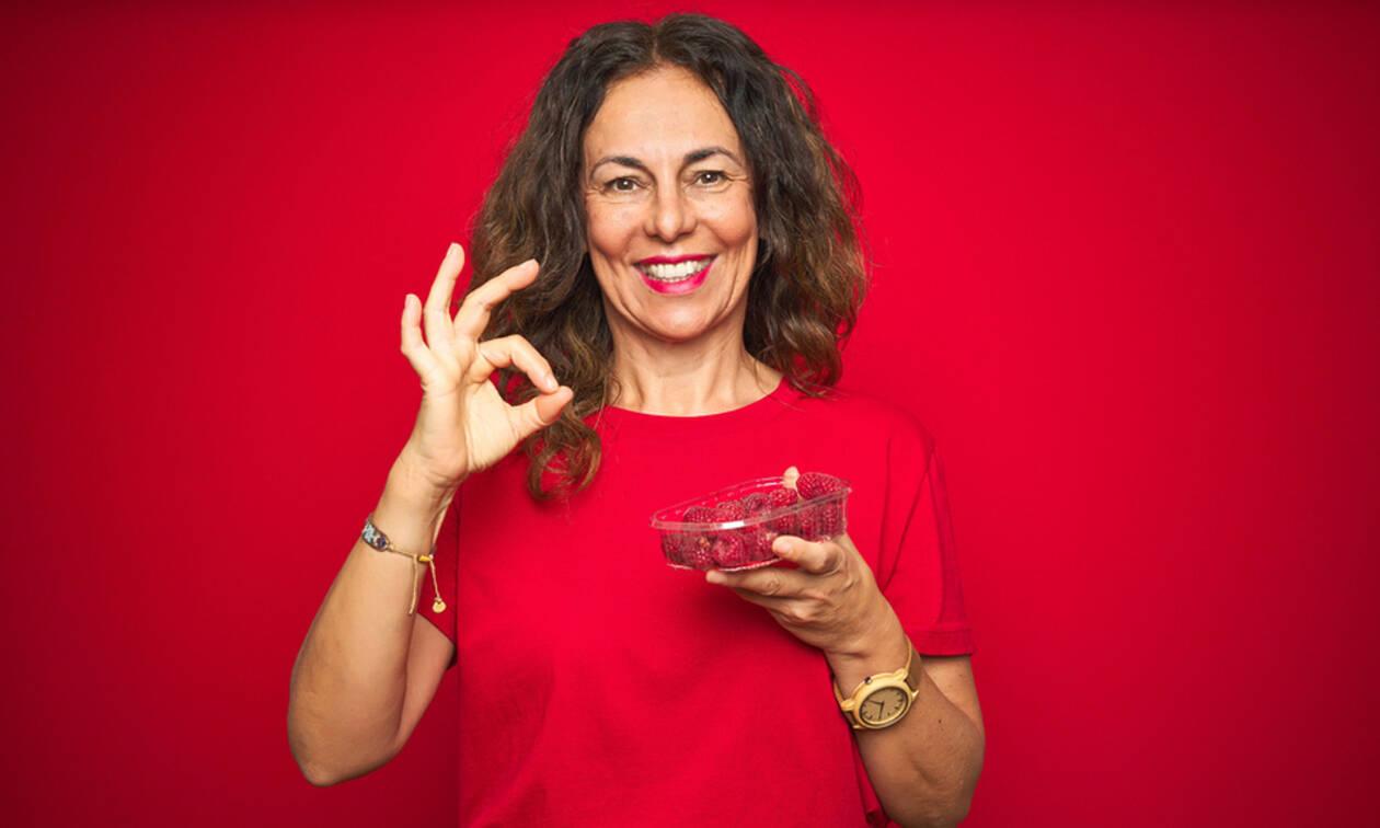 Εμμηνόπαυση: Τροφές για καλύτερη διαχείριση των συμπτωμάτων (εικόνες)