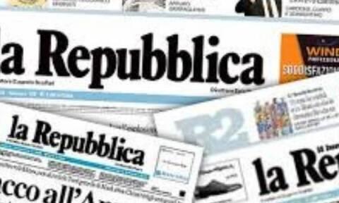 Φάρσα ο συναγερμός για βόμβα στα γραφεία της La Repubblica
