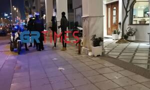 Θεσσαλονίκη: Άγριο ξύλο στο κέντρο της πόλης - Τι συνέβη