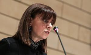 Αικατερίνη Σακελλαροπούλου: Η «προφητική» ομιλία της υποψήφιας για την Προεδρία της Δημοκρατίας