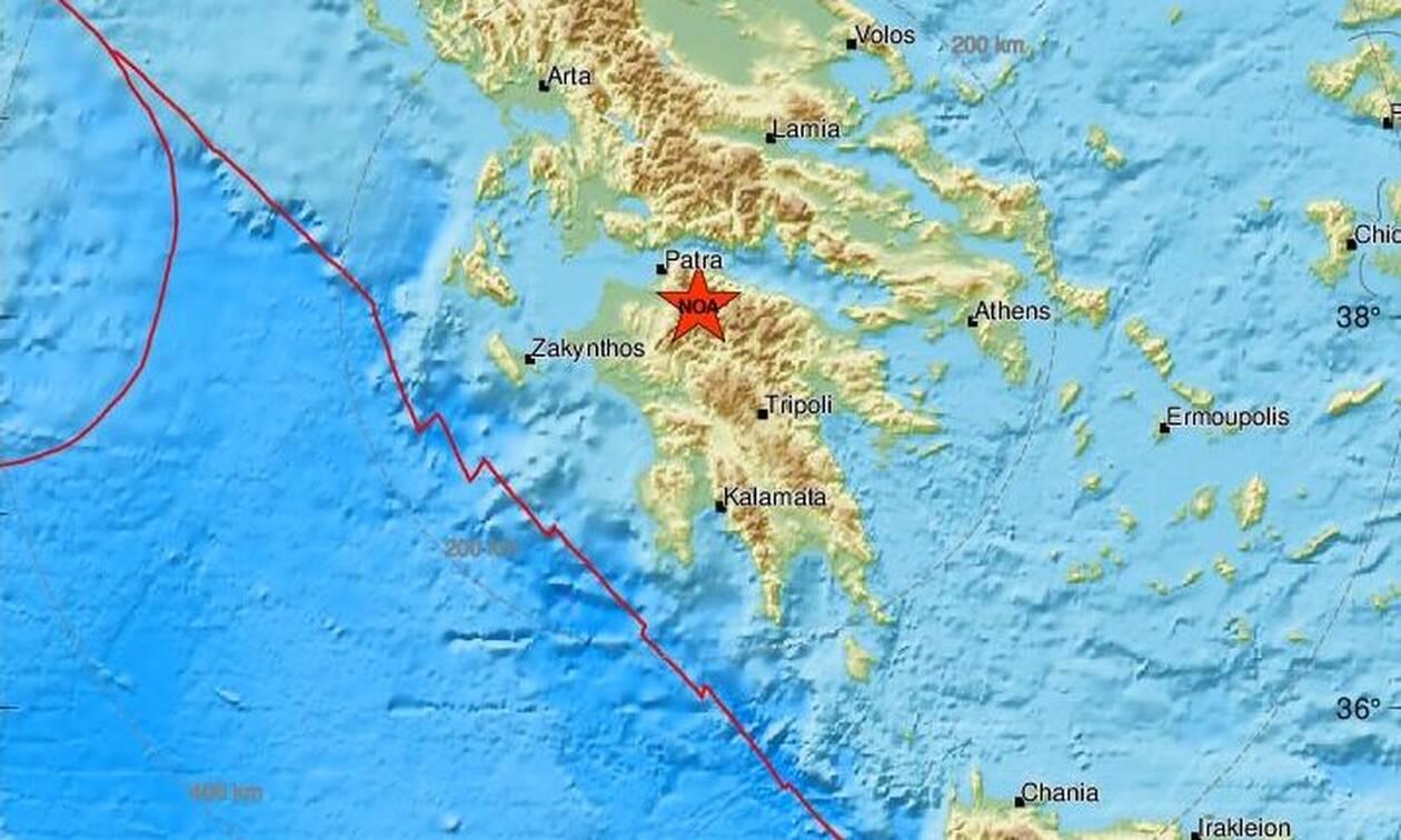 Σεισμός: Διπλή σεισμική δόνηση στα Καλάβρυτα (pics)