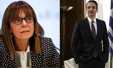 Πρόεδρος της Δημοκρατίας: Το παρασκήνιο της πρότασης Μητσοτάκη για την Σακελλαροπούλου