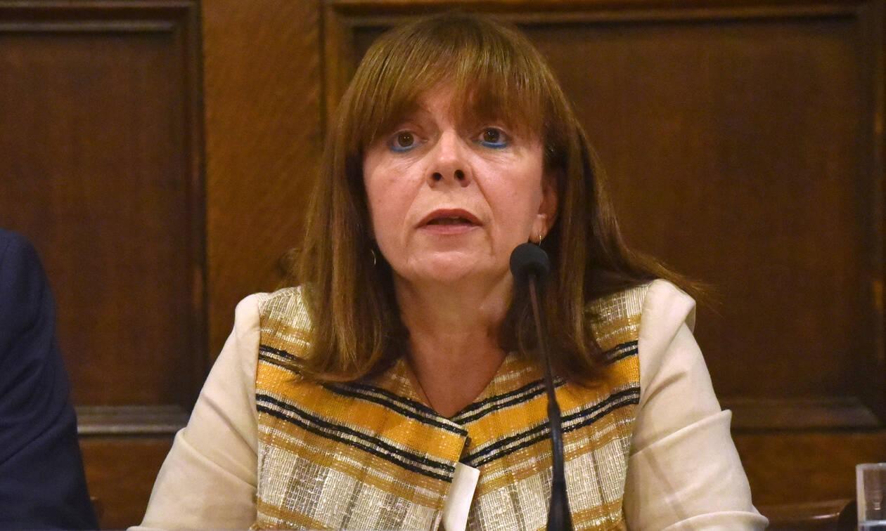 Αικατερίνη Σακελλαροπούλου: Στις 22 Ιανουαρίου η πρώτη ψηφοφορία στη Βουλή για ΠτΔ