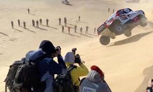 Δείτε το απίστευτο ατύχημα του Alonso στο Ντακάρ