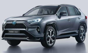To Toyota RAV4 plug-in hybrid καλύπτει 65 χιλιόμετρα καθαρά ηλεκτρικά
