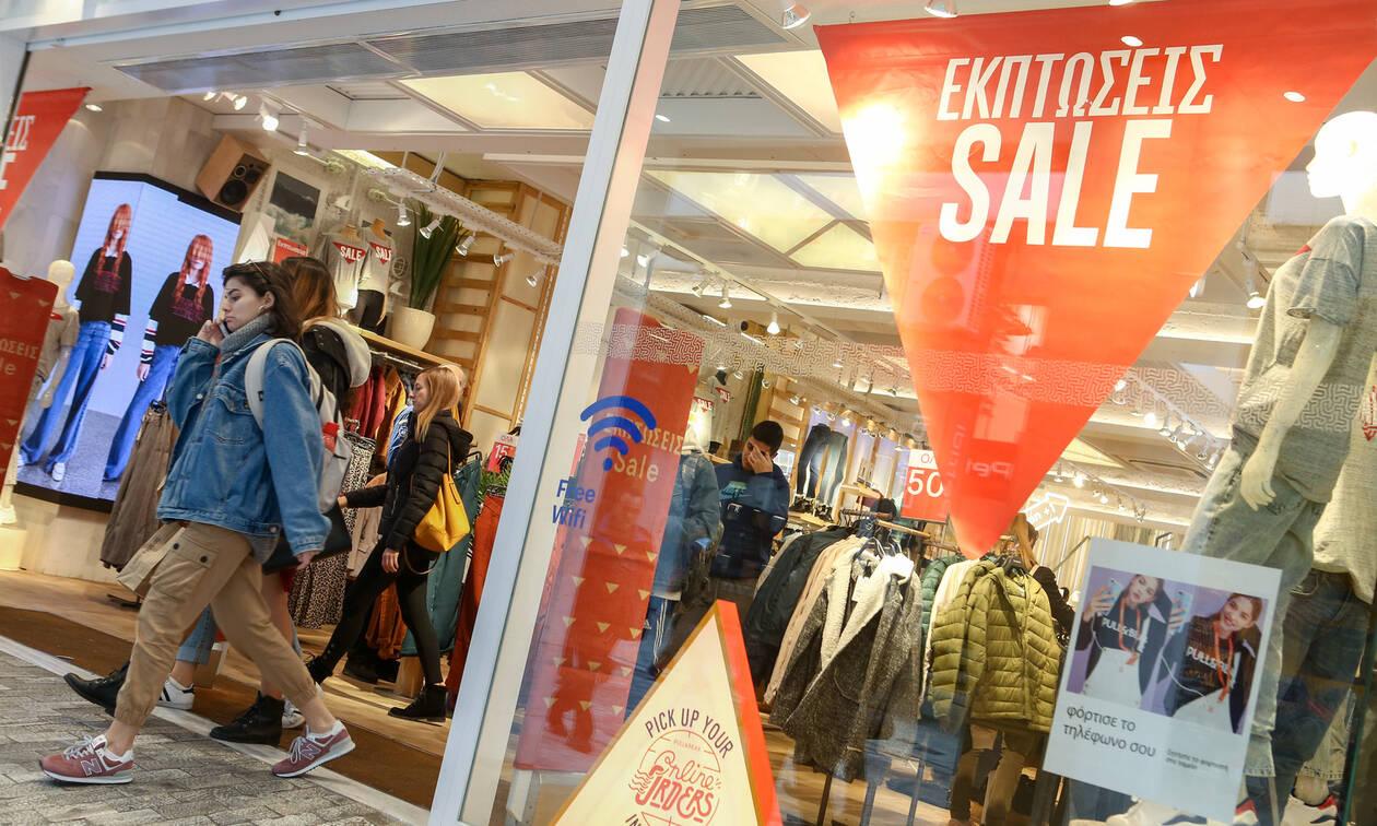 Χειμερινές εκπτώσεις: Ποια Κυριακή θα είναι ανοιχτά τα καταστήματα