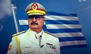Λιβυκός Εθνικός Στρατός: «Ευχαριστούμε Ελλάδα που κρατάς ασφαλή τον Χάφταρ»