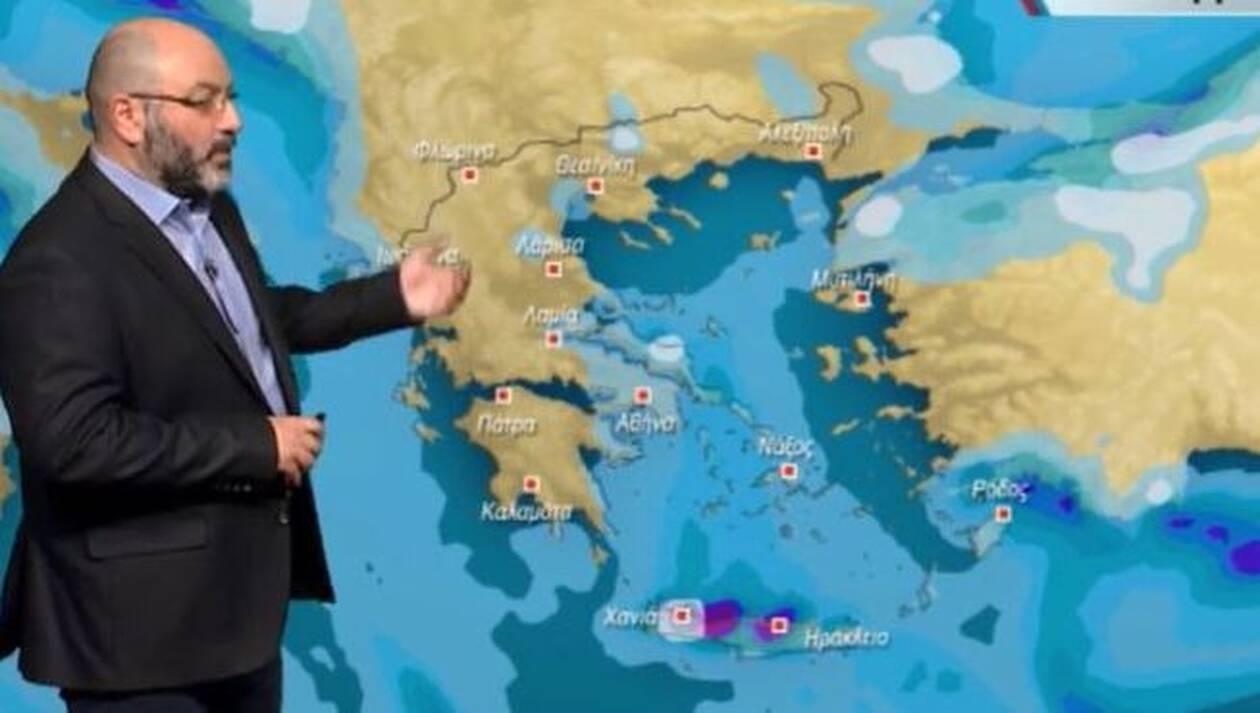 Καιρός: Ψυχραίνει ο καιρός το Σαββατοκύριακο. Πού θα χιονίσει; Η ανάλυση του Σάκη Αρναούτογλου...