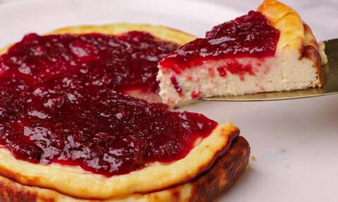 Fiadone: Συνταγή από την Κορσική για ένα νοστιμότατο cheesecake