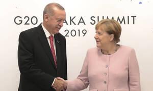 Στην Κωνσταντινούπολη η Μέρκελ – Οι πιέσεις Ερντογάν κατά της Ελλάδας για τη Λιβύη