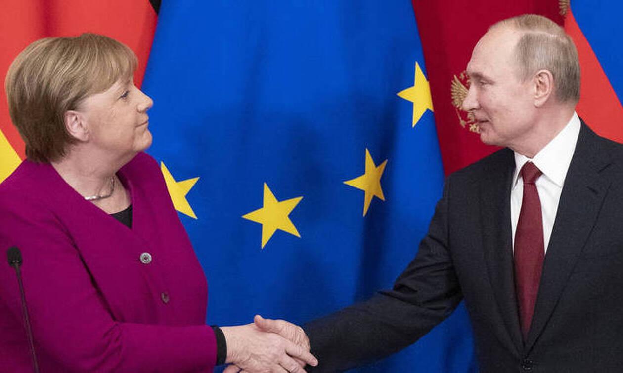 Διάσκεψη για την Λιβύη στο Βερολίνο: Επικοινωνία Μέρκελ-Πούτιν - Τι συζήτησαν οι δύο ηγέτες