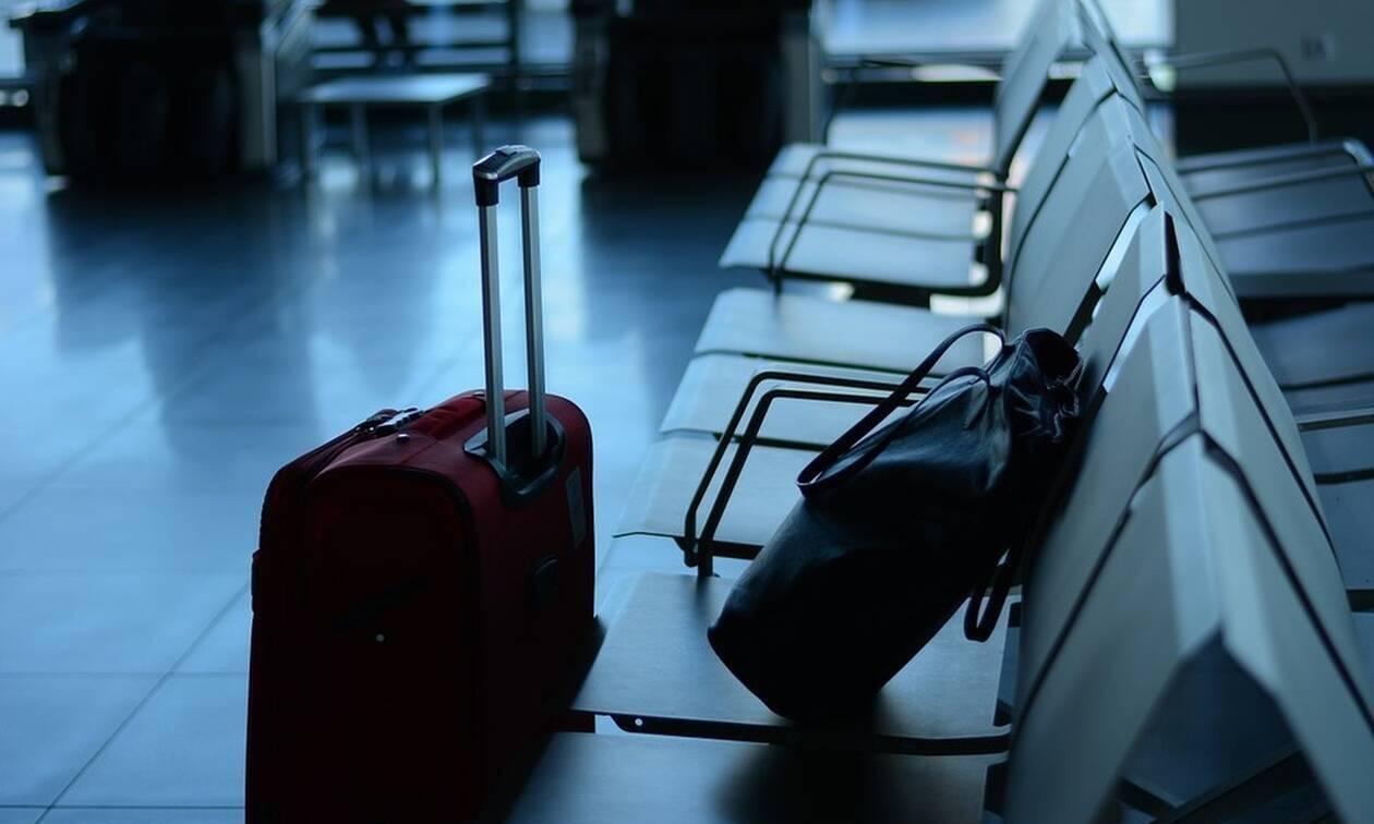 «Χαμός» σε αεροδρόμιο: Δεν μπορούσαν να πιστέψουν τι είχε στη βαλίτσα του (pics)