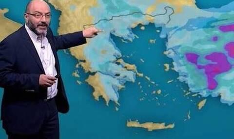 Καιρός: Πού θα βρέξει και πού θα χιονίσει το Σαββατοκύριακο! Η ανάλυση του Σάκη Αρναούτογλου (Video)
