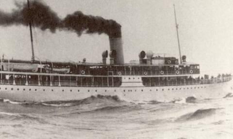 Σαν σήμερα βυθίζεται το ατμόπλοιο «Χειμάρρα» στο Νότιο Ευβοϊκό