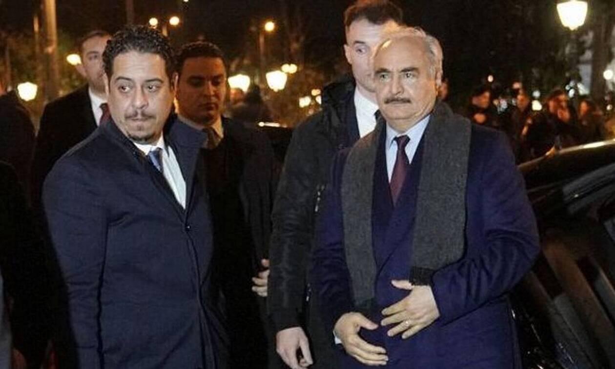 «Έξω» φρενών τα τουρκικά ΜΜΕ από την επίσκεψη Χαφτάρ στην Αθήνα (pics)