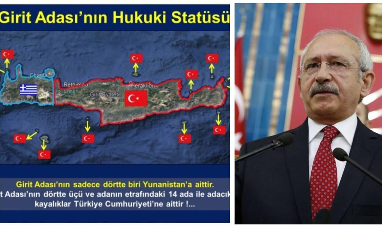 «Η Κρήτη μας ανήκει»: Ανιστόρητοι, προκλητικοί και επικίνδυνοι οι Τούρκοι