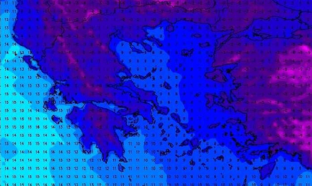 Καιρός: Σχετικά σίγουρο το κρύο, την Τρίτη ξεκαθαρίζει το τοπίο για πιθανή ψυχρή εισβολή...