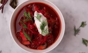 H συνταγή της ημέρας: Σούπα Μπορς (Borscht)