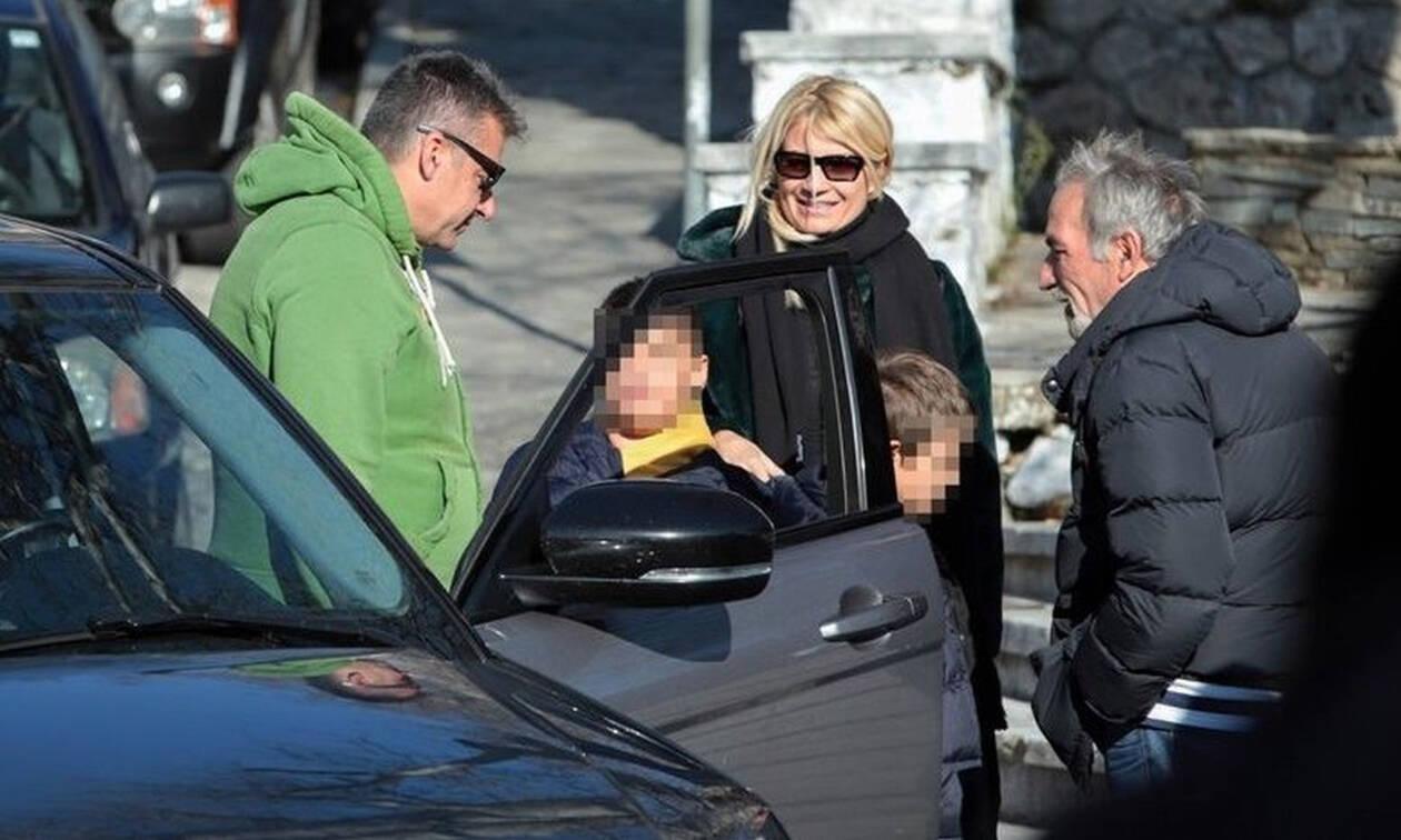 Φαίη Σκορδά - Γιώργος Λιάγκας: Ενωμένοι για τα παιδιά τους! Τους «τσακώσαμε» στις... Σέρρες! (Pics)