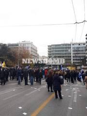 ΤΩΡΑ Κλειστοί οι δρόμοι γύρω από το Σύνταγμα - Συγκέντρωση διαμαρτυρίας για το μεταναστευτικό