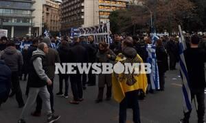 ΤΩΡΑ: Κλειστοί οι δρόμοι γύρω από το Σύνταγμα - Συγκέντρωση διαμαρτυρίας για το μεταναστευτικό