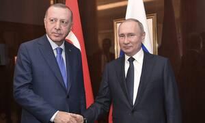 Διάσκεψη του Βερολίνου: Τι δήλωσαν Πούτιν-Ερντογάν στο κατ' ιδίαν τετ α τετ τους