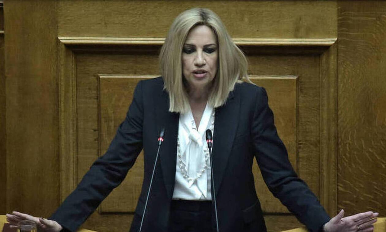 Γεννηματά: O κ. Μητσοτάκης να πάψει να είναι τόσο προβλέψιμα πρόθυμος στα εθνικά θέματα
