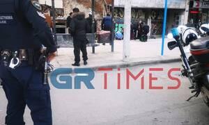 Θεσσαλονίκη: Ένοπλη ληστεία σε κατάστημα (pics - vid)