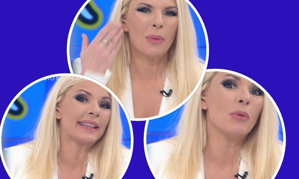 Αννίτα κοίτα: Έξαλλη η Πάνια! Τα «πήρε κρανίο» στον αέρα της εκπομπής - Τι συνέβη; (Photos-Video)