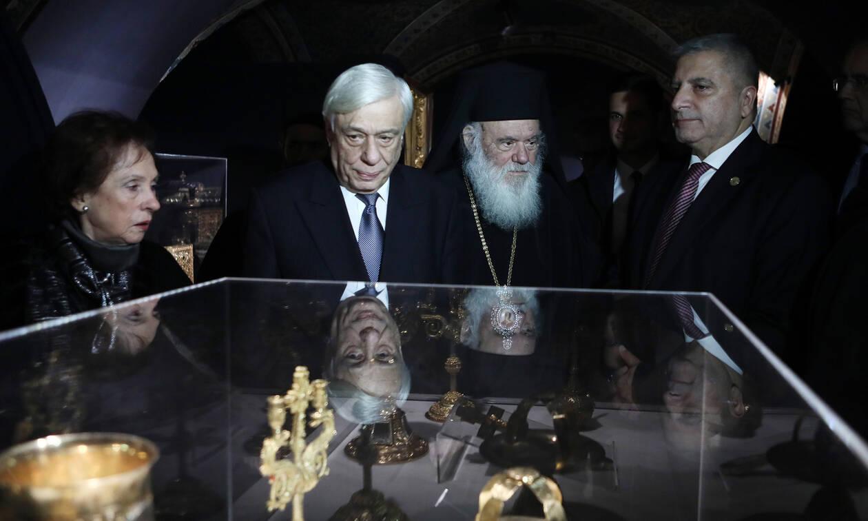 Παυλόπουλος: Το Κειμηλιοφυλάκιο του Μητροπολιτικού Ναού Αθηνών είναι μια πηγή διαρκούς έμπνευσης