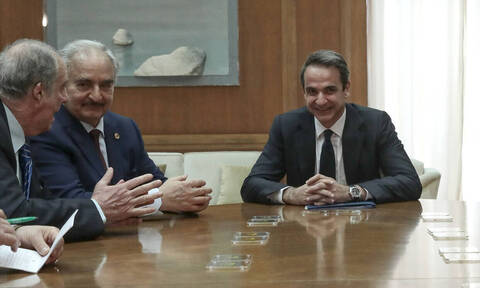 Хафтар поблагодарил греческое руководство за поддержку и позицию по ливийскому вопросу