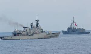 Στο οικόπεδο «8» το Yavuz μαζί με υποστηρικτικό πλοίο της Τουρκίας