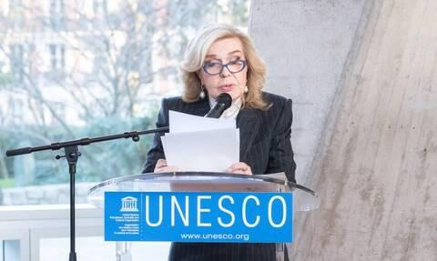 Η Μαριάννα Βαρδινογιάννη στη «Νύχτα Ανάγνωσης» της UNESCO (pics)