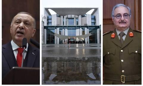 Διάσκεψη Βερολίνου: «Καρφιά» Χαφτάρ για Ερντογάν - «Ορισμένοι απομονώνονται για τα εγκλήματά τους»