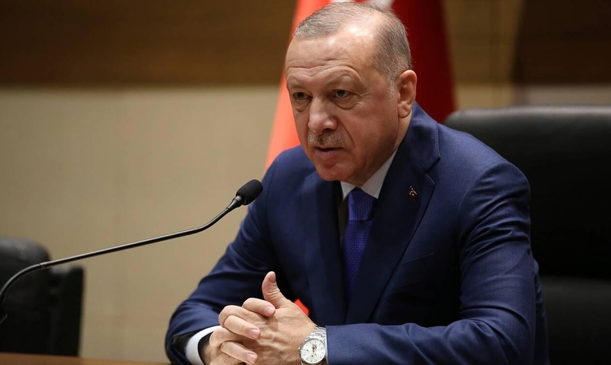 «Τορπίλη» Ερντογάν: Συζητάμε με Ιταλία για γεωτρήσεις στη Μεσόγειο