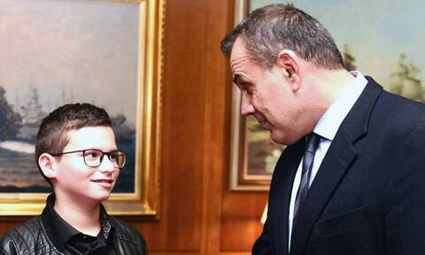 Συγχαρητήρια Παναγιωτόπουλου στον 11χρονο μαθητή για την 3η θέση στην Παγκόσμια Ολυμπιάδα Ρομποτικής