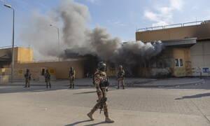 Ιράκ: Νέες ρουκέτες κοντά στην πρεσβεία των ΗΠΑ στη Βαγδάτη (vid)