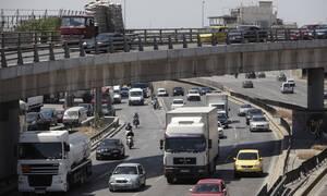 «Κόλαση» στην Αθηνών-Λαμίας: Ουρά χιλιομέτρων στην κάθοδο