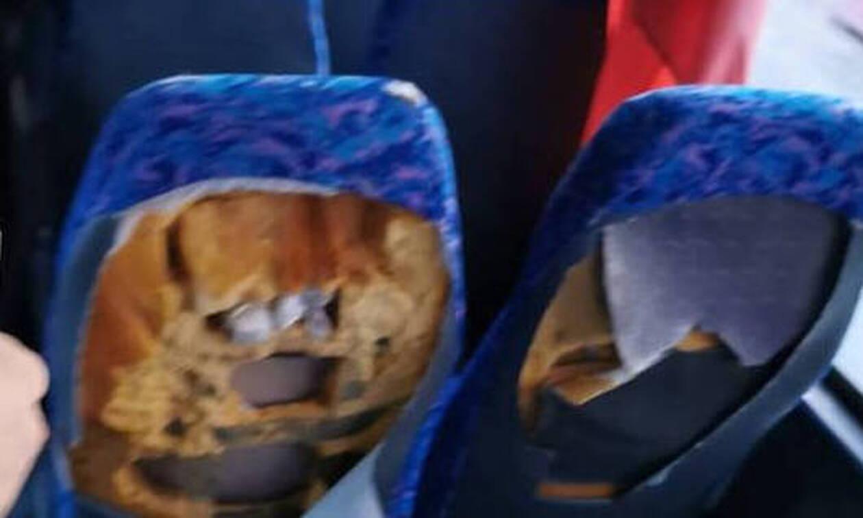 Ντροπή! Αυτό το λεωφορείο μεταφέρει μαθητές - Δείτε τις εικόνες
