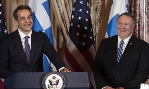 Επιστολή Πομπέο σε Μητσοτάκη: Οι ΗΠΑ στηρίζουν την ασφάλεια της Ελλάδας