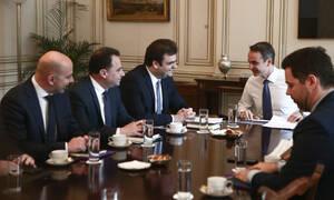 Την ηγεσία του υπουργείου Ψηφιακής Διακυβέρνησης είδε ο Μητσοτάκης