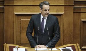 Παρέμβαση Μητσοτάκη στην Ολομέλεια της Βουλής