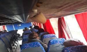 Εικόνες ντροπής σε σχολικό λεωφορείο: Φύτρωσαν μανιτάρια από τη μούχλα (pics - vid)