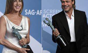 Ειδικοί ανέλυσαν τη γλώσσα σώματος ανάμεσα σε Pitt και Aniston και ξέρουμε πια την αλήθεια