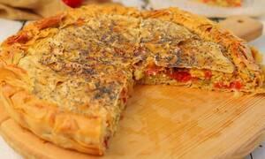 H συνταγή της ημέρας: Πιπερόπιτα
